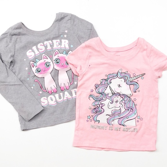 The Children's Place toddler girl graphic tees